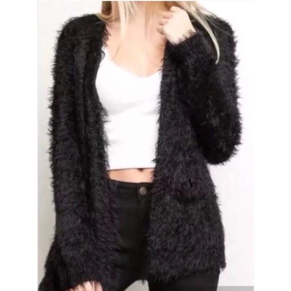 Brandy Melville Sweaters - BRANDY MELVILLE NEW fluffy cardigan